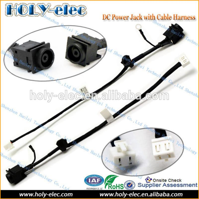 Original DC power jack in cable for SONY VAIO VGN-FW series M763 015-0101-1455-A