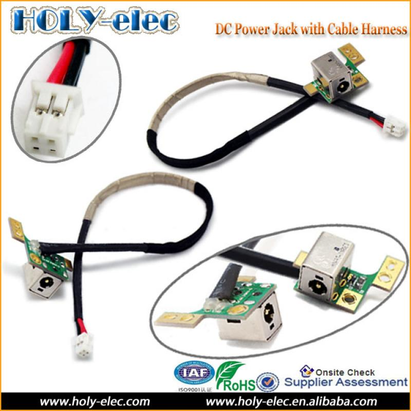 laptop dc power board jack socket port cable wire hp dv9000 dv9600 laptop dc power board jack socket port cable wire hp dv9000 dv9600 dv9700 series 90w
